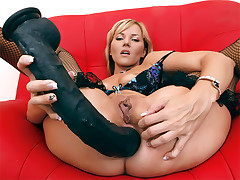 He's an fierce sort and wants to make the ballsack fuckhole is Zlata his playground in this anal invasion lovemaking video. In a cool hooter-sling and g-string set and fishnets she faceholes his hard-on and the arse nailing gets underway from behind as she puts her pouch up and introduces him with the fuckhole he desires. After the final ballsack to throat suck off he paints her face with spunk.