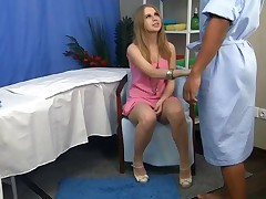 Super-hot golden-haired from this massage fuck movie scene has just turned eighteen! This is super cute, sexy, and what's more important - absolutely legal. I don't blame the doctor for to her during in nature's treating massage session. I mean, who wouldn't on his place? I sured would! And the didn't stand against anyway. This  doctors engulfing caressing her age teenager constricted culo and adorable tits. Luxurious in a short time it wasn't just massabe, but fingering, then deep oral stimulation followed.